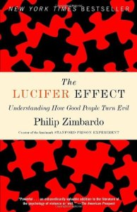 """I am currently reading this book, about why people are """"evil,"""" and how it's not really people, but institutions that make them do these things. So far, it is fascinating. The image is taken from Amazon.com."""